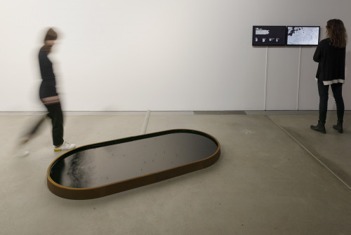 Installation view, Swiss Media Art, HeK, Basel